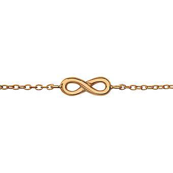 Infinity - 925 Sterling Silver Chain Bracelets - W35215X
