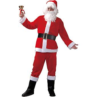 Kostium dla dorosłych Świętego Mikołaja, L