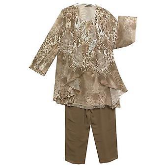 DRESS UP Spodnie Zestaw DU75 Beżowy