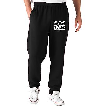 Pantaloni tuta nero fun2564 my dad rocks