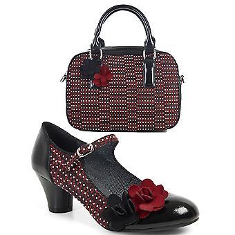Ruby shoo kvinder ' s Freya Mid Heel Mary Jane pumper & matchende Seoul taske