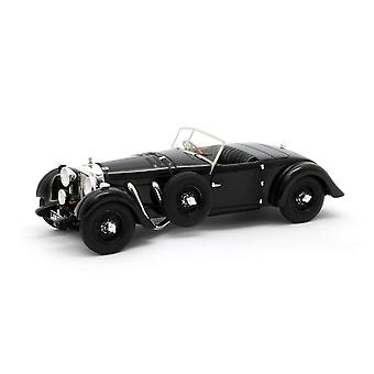 Bentley 8 Litre Dottridge Brothers Tourer (1931) Resin Model Car