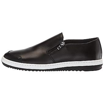 English Laundry Mens Gunton Leather Closed Toe Slip On Shoes