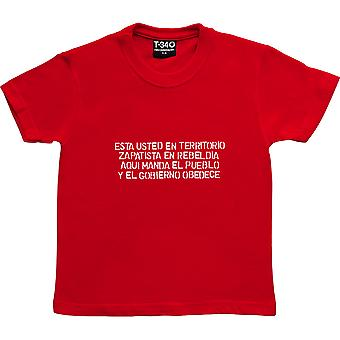 The People Give the Orders Red Kids' T-Shirt