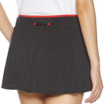 Adidas Performance Dames barricade slim fit tennis sport rok skort-zwart