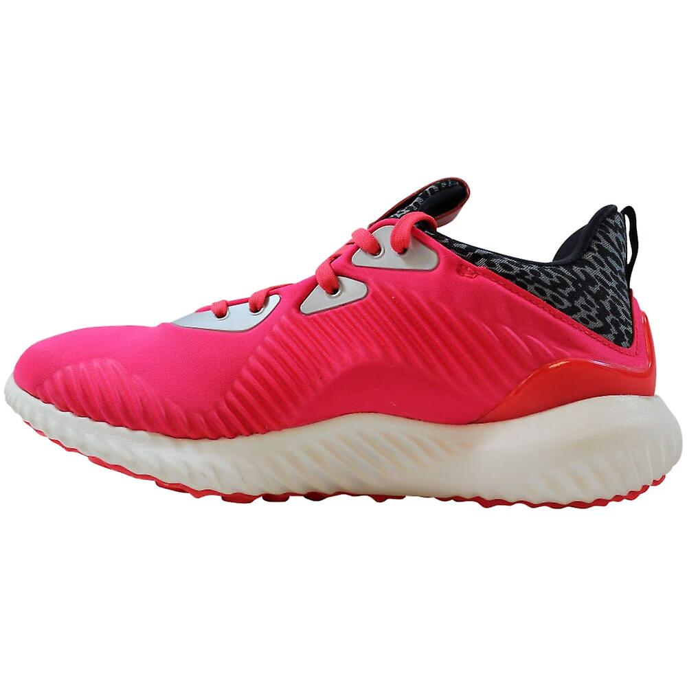 Adidas Alphabounce Orange/Core Black-Footwear White B54168 Grade-School
