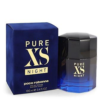 Pure xs night eau de parfum spray by paco rabanne 545438 100 ml