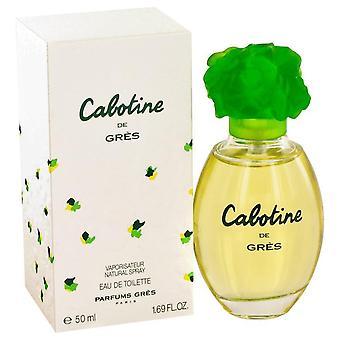 Cabotine eau de toilette spray door parfums gres 412683 50 ml
