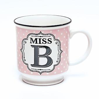 Geschichte & Heraldik Alphabet Becher - Miss B