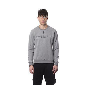 Grey sweatshirt Nicolo Tonetto men
