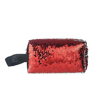 Jewelcity kvinner/Ladies reversibel sequin makeup bag