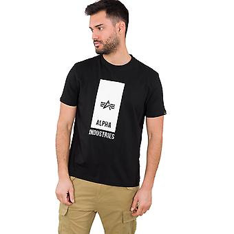 Alpha Industries férfi T-shirt Block logo