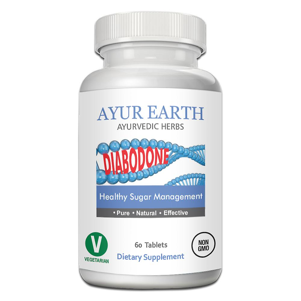 AYUR EARTH Diabodone - Ayurvedic Vegetarian Supplement