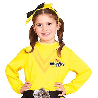 Emma The Wiggles Book Week Girls Costume Yellow Long Sleeve Shirt Top Toddler