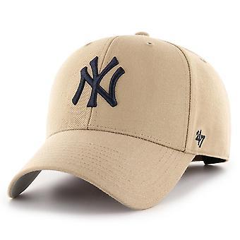 47 العلامة التجارية استرخاء صالح كاب -- MLB نيويورك يانكيز كاكي البيج