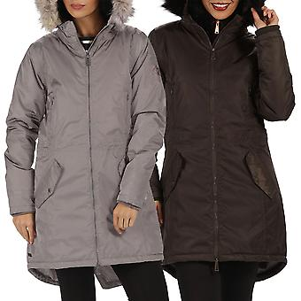 Regatta Womens Lucetta Insulated Waterproof Soft DWR Parka Jacket
