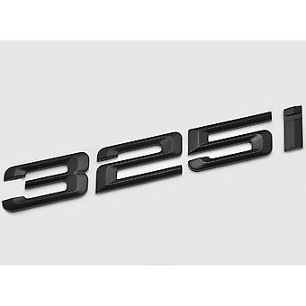 Matt Black BMW 325i Car Model Rear Boot Number Letter Sticker Decal Badge Emblem For 3 Series E36 E46 E90 E91 E92 E93 F30 F31 F34 G20