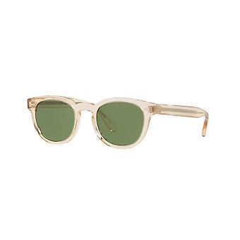 Oliver Peoples Sheldrake OV5036S 1580/52 Transparante Beige/Groene zonnebril