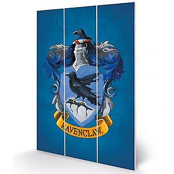 هاري بوتر الخشب طباعة Ravenclaw