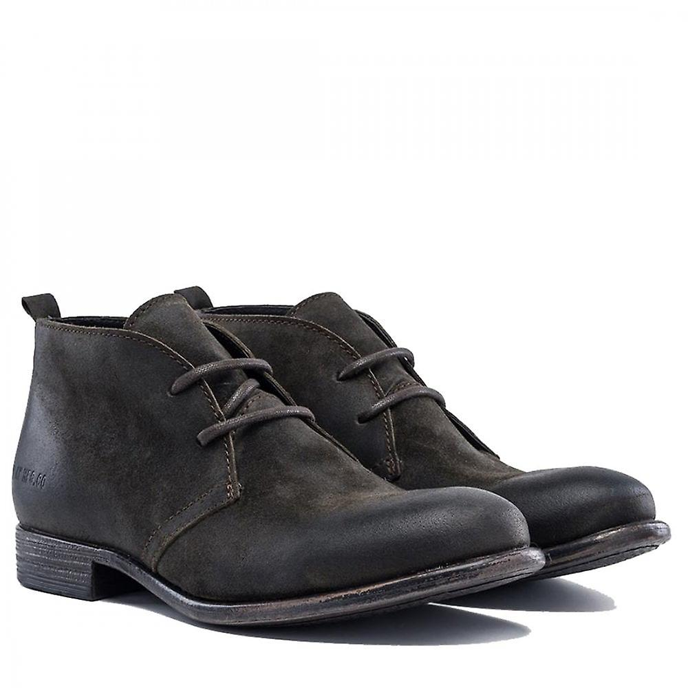 Replay Marl City Urban Oiled Leather Look Shoes