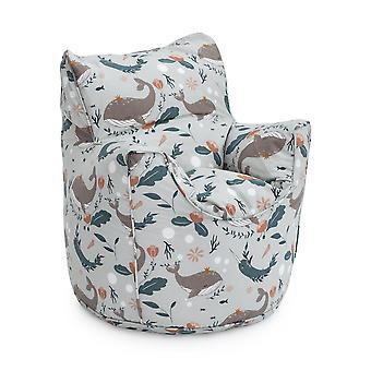 Bereit Steady Bed Undersea Kinder Kleinkind Sessel | Bequeme Kindermöbel | WeicheS Kind Safe Seat Spielzimmer Sofa | Ergonomisch gestaltete Bean Bag Stuhl