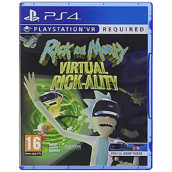 Rick and Morty Virtual Rick-Ality PS4 Game