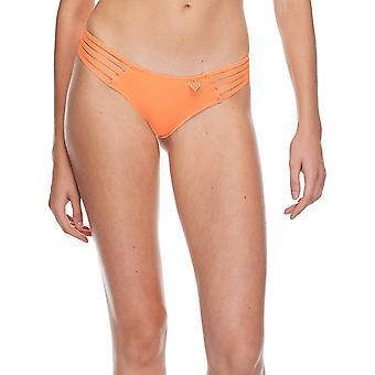 Body Glove Women's Smoothies Amaris Solid Cheeky Coverage Bikini Bottom Swims...