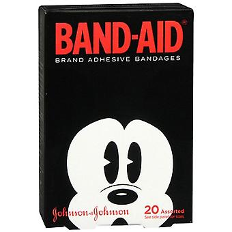 Band-aid children's bandages, disney mickey mouse, assorted sizes, 20 ea