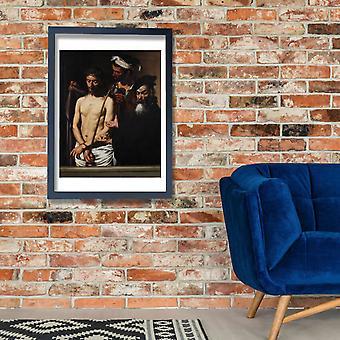 Caravaggio - (Michelangelo Merisi) Ecce Homo Poster impressão giclée