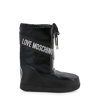 Kjærlighet Moschino Original Kvinner Høst /Vinter Joggesko - Svart Farge 54619
