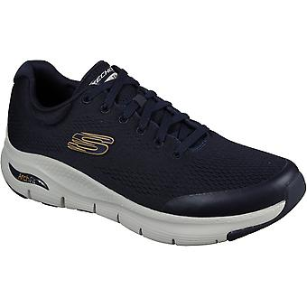 Skechers Mens Arch Fit Lace Up Sports