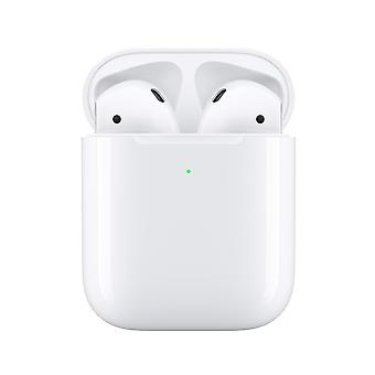 Apple AirPods Wireless Charging - 2nd Generation True Wireless Headphones with Microphone Earplugs Bluetooth