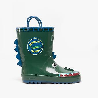 Cotswold Puddle støvle drenge gummi Wellington støvler krokodille
