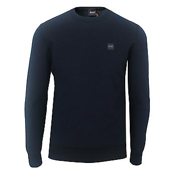 Hugo boss men's karsten dark blue jumper