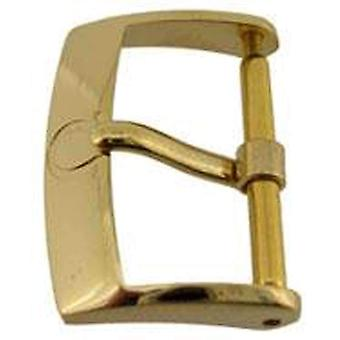 Authentic omega watch strap buckle 16mm gold plated