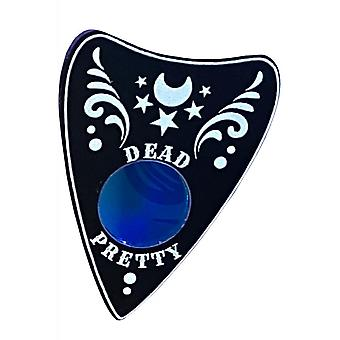 Curiology Dead Pretty Ornate Planchette Pin Badge