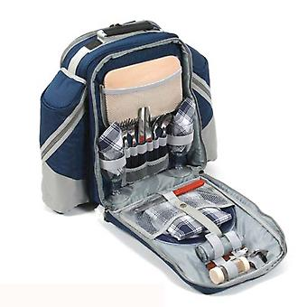 Picnic Backpack Deluxe Two Person Hamper