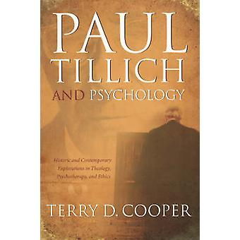 PAUL TILLICH AND PSYCHOLOGY by Cooper & Terry D.