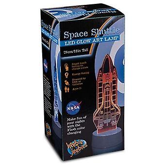 Heebie Jeebies Space Shuttle LED Lamp
