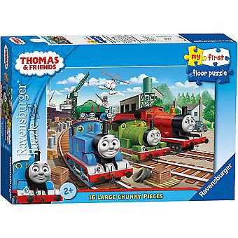 Ravensburger Thomas My First Floor Puzzle 16 Piece  Jigsaw Puzzle