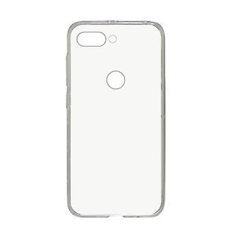 Mobilt omslag Oppo R15 Pro KSIX Flex TPU Transparent