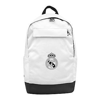 Gym Bag Adidas Real Madrid BP Hvit Svart