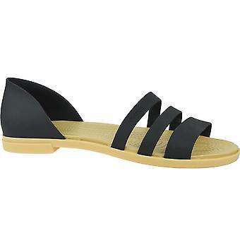 Crocs Tulum Open Flat W 20610900W universelle sommer kvinder sko