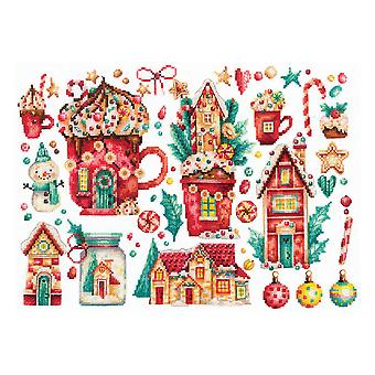 Andriana Cross Stitch Kit - Christmas Søtsaker
