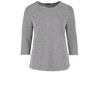 Bianca Embossed Patterned Top