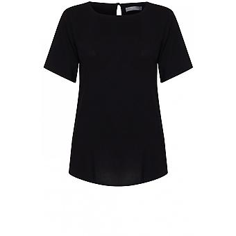 b.young Black Blouse