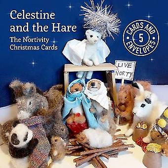 Celestine and the Hare Christmas Card Pack by Karin Celestine