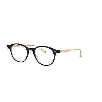 DITA Ash DRX2073 G Matte Black-Yellow Gold Glasses