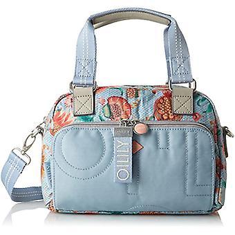 Oilily Charm Sunflower Handbag Shz 1 - Blue Women's Bag (Light Blue) 16x20x28 cm (B x H T)