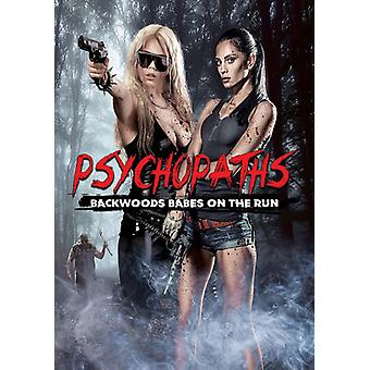 Psychopaths: Backwoods Babes on the Run [DVD] USA import